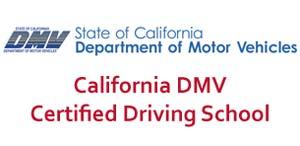 CA DMV certified logo